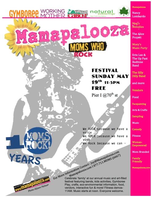 Mamapalooza NYC 2013