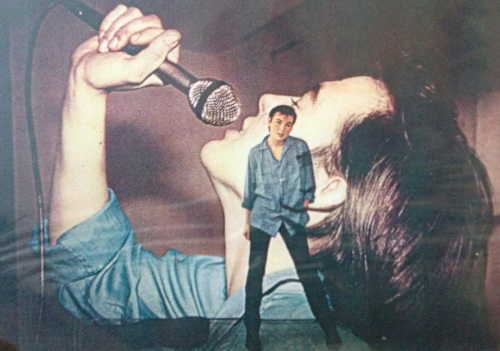 Joy Rose as Peter Blue 1981