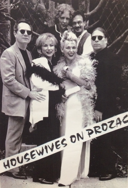 Housewives On Prozac circa 1997 w/founder Joy Rose and other Hastings On Hudson residents