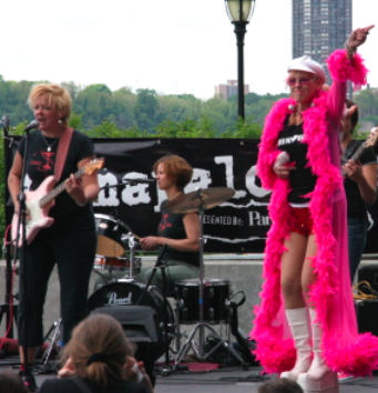 Joy Rose and Candy Band, Mamapalooza NYC